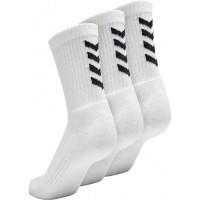 Calcetín de Fútbol HUMMEL Fundamental 3-Pack Sock 022140-9001