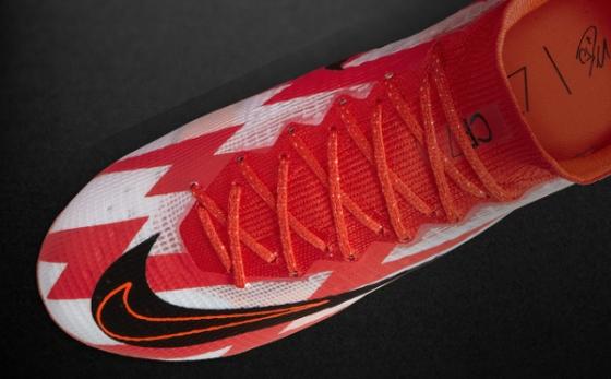 Botas de Fútbol Nike CR7 Blanco / Rojo