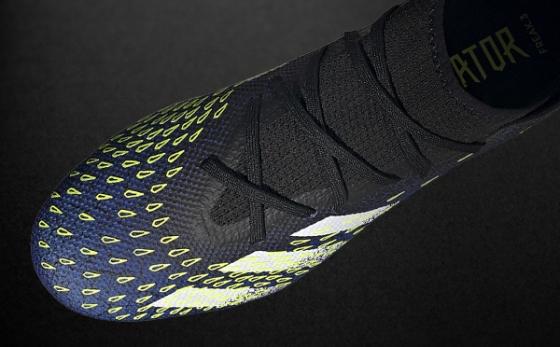 Botas de Fútbol adidas Predator Negro / Amarillo Flúor