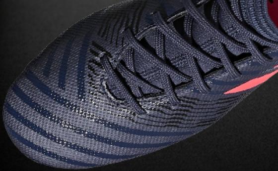 Botas de Fútbol adidas NEMEZIZ Azul Marino / Salmón