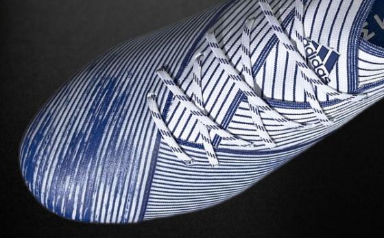 Chuteiras adidas NEMEZIZ Branco / Azul Royal