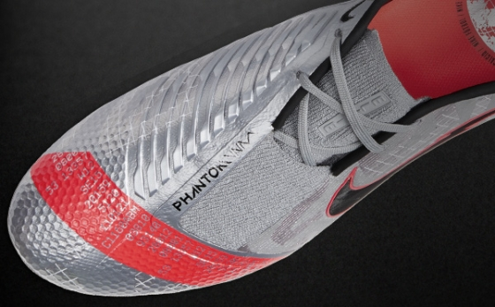 Chuteiras Nike Phantom Cinza / Laranja