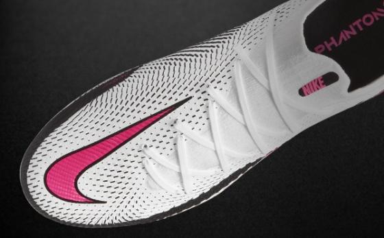 Botas de Fútbol Nike Phantom Blanco / Rosa
