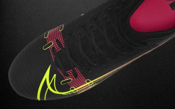 Botas de Fútbol Nike Mercurial Negro / Amarillo Flúor