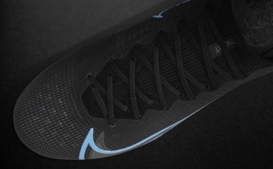Botas de Fútbol Nike Mercurial Negro / Negro